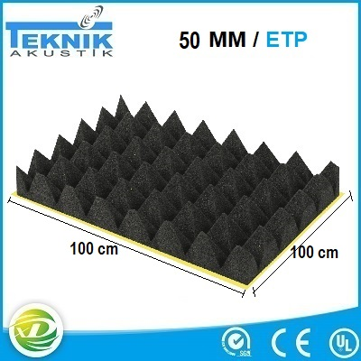 yapiskanli-akustik-piramit-sunger-50MM-yanmaz-akustik-yalitim-sungeri